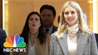 Ivanka Trump Arrives In South Korea To Attend Winter Olympics Closing Ceremony | NBC News - NBCNEWS