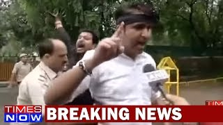 Protest Against Naresh Aggarwal After Controversial Remarks In The Upper House - TIMESNOWONLINE