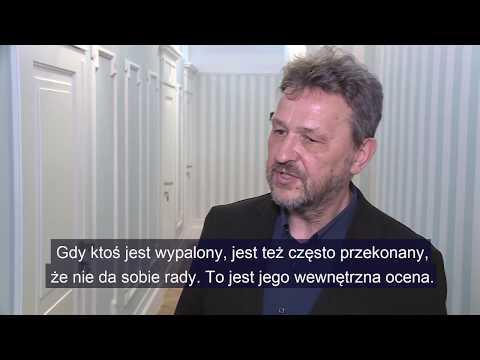 Dr Adam Aduszkiewicz z Ośrodka Rozwoju Osobistego Lwowska 5 wyjaśnia, czym jest wypalenie zawodowe