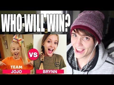 JoJo Siwa VS Brynn Rumfallo ★ Comedy Battle ★ REACTION