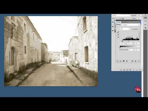 Tutorial Photoshop - Efecto foto antigua - Antique effect - HD