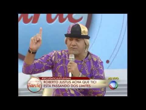 BARRACO: DEPUTADO TIRIRICA SE IRRITA COM BRITTO JUNIOR E ROBERTO JUSTOS  (Programa da Tarde 2013)