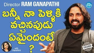 E Ee Movie Director Ram Ganapathi Exclusive Interview || Talking Movies With iDream - IDREAMMOVIES