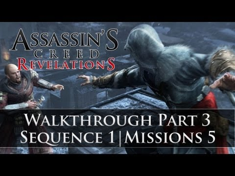 Assassins Creed - Revelations 100% Sync Walkthrough Part 3 (Sequence 1 | Memory 5)