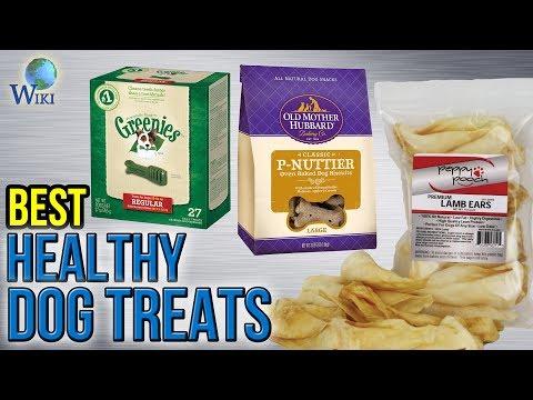 10 Best Healthy Dog Treats 2017