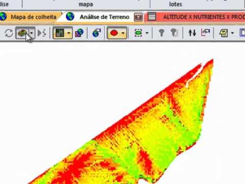 Agricultura de Precisão - Mapas 3D e Análises