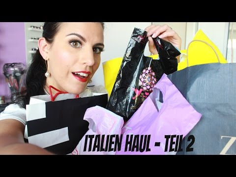 Italien Haul Teil 2 ¦ Bloopers, KIKO bekommt Konkurrenz, 7Euro Stiefeln...