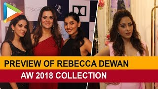 Preview of Rebecca Dewan aw 2018 collection-blooming Tales with Nushrat Barucha - HUNGAMA