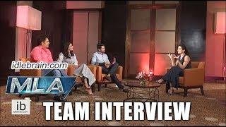 MLA team interview - Kalyan Ram, Kajal Agarwal, Ravi Kishan - idlebrain.com - IDLEBRAINLIVE
