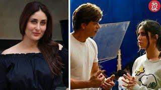 Kareena To Star In 'Aapla Manus' Remake? | Katrina-SRK's Fun Time On The Sets Of 'Zero' - ZOOMDEKHO