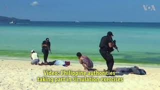 Philippines Runs Security Drills - VOAVIDEO