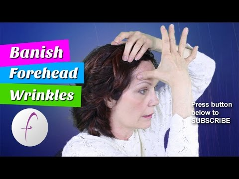 How To Get Rid Of Forehead Wrinkles Smooth Out Forehead Lines Forehead Wrinkles | FACEROBICS®