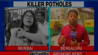 Our lives matter: From Mumbai to Bengaluru; potholes become 'serial killer' - NEWSXLIVE