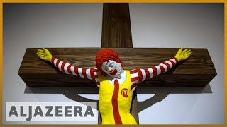 🇮🇱 'McJesus': Artwork in Israel upsets Arab Christians l Al Jazeera English - ALJAZEERAENGLISH