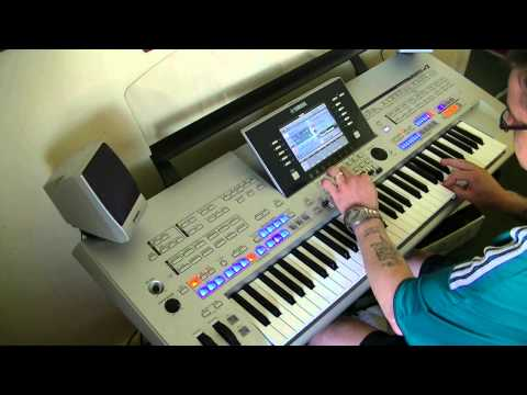 Micheal Jackson  Earth Song - Yamaha Tyros 4