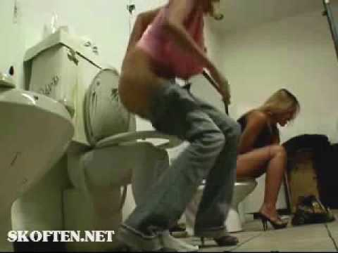 В женском туалете – Супер прикол