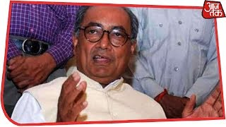 I Don't Believe In Opinion Polls Or Exit Polls, Says Digvijay Singh | AajTak Exclusive - AAJTAKTV