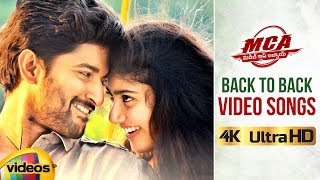 MCA Telugu Movie Songs | Back to Back Video Songs | Nani | Sai Pallavi | DSP | Dil Raju | 2018 Songs - MANGOVIDEOS