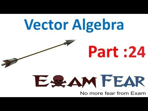 Maths Vector Algebra part 24 (Vector Cross Product) CBSE class 12 Mathematics XII
