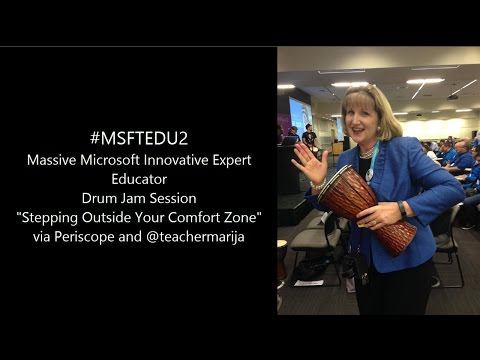 #MSFTEDUE2 Massive MIEExpert Drum Jam Session