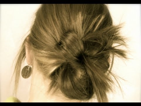 2 min. Cute Holiday Updo I Naturesknockout