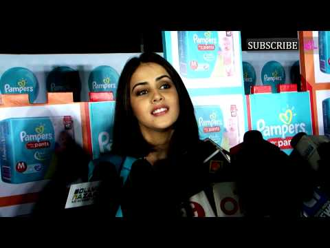 Genelia D'Souza | Promotes Pampers Baby Dry Pants | Part 3