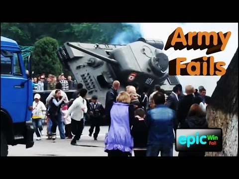 Epic Win/Fail HD Compilation - Best Army Fails