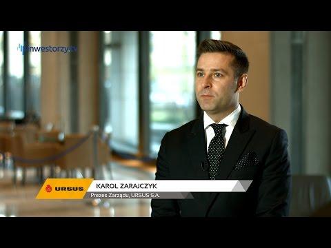Karol Zarajczyk prezentuje wyniki spólki po 3 kwartale 2015 roku
