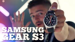 Gear S3 троллят Apple watch - ЗАЧЕМ и кому? Быстрый обзор