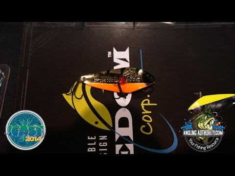 ICAST 2014 New Freedom Tackle Minnow
