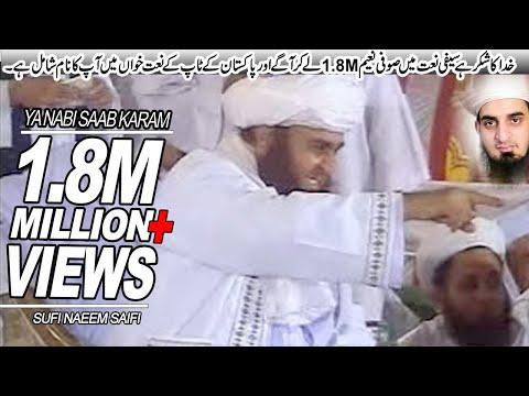 Ya Nabi Sab Karam Hai Tumhara Saifi Naat By Sufi Naeem Muhammadi Saifi