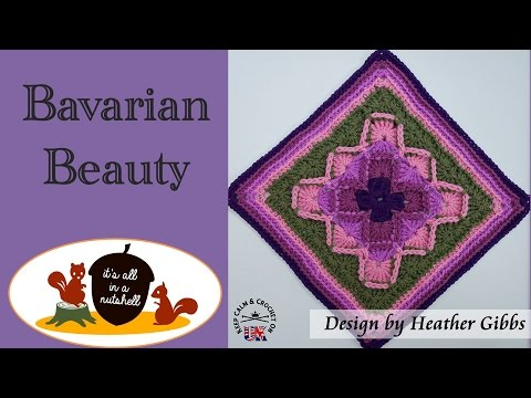 Bavarian Beauty - Crochet Square