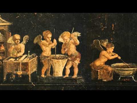 Animation d'une fresque de Pompei / Pompei fresco animation