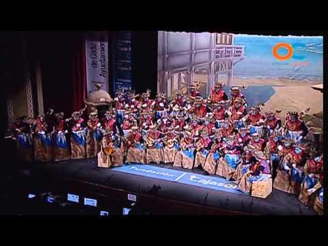 Sesión de Cuartos de final, la agrupación En la ciudad de Cádiz actúa hoy en la modalidad de Coros.