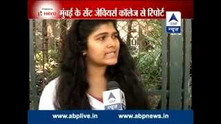 Students of Mumbai's St Xavier's College react to their principal's letter on 'Gujarat model' - ABPNEWSTV