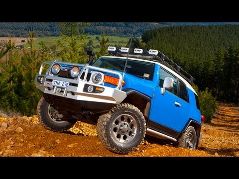 ARB Toyota FJ Cruiser Buildup