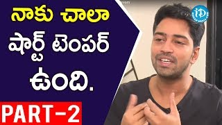 Actor Allari Naresh Interview Part #2 || Talking Movies with iDream - IDREAMMOVIES