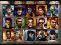Mortal Kombat 4 Character Select Screen Theme