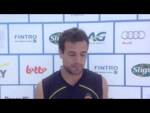 Fintro EuroHockey Junior Championships 2014 Day 6 - Post match interview FRA-ESP (m) 1-5
