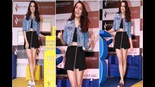 In Graphics: SEE PICS: Shraddha kapoor at Skecher Street launch event at mumbai - ABPNEWSTV