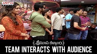 Srinivasa Kalyanam Team Interacts with Audience || Nithiin, Raashi Khanna || Dil Raju - ADITYAMUSIC