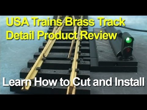 Garden Trains:  USA Trains Track and Switches Product Close-up