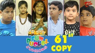 Fun Bucket JUNIORS | Episode 61 | Kids Funny Videos | Comedy Web Series | By Sai Teja   TeluguOne - TELUGUONE