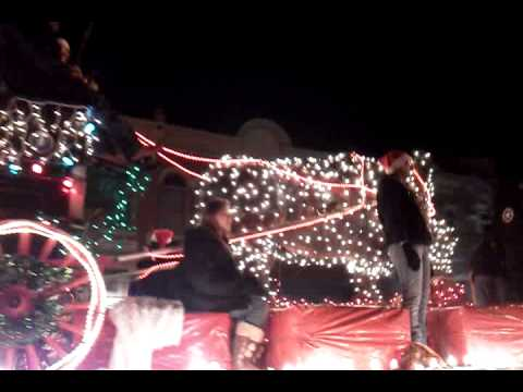 Our Buffalo in the Rapid City Parade of lights