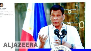 Duterte denies ordering shutdown of news site Rappler - ALJAZEERAENGLISH