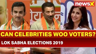Can celebrities power going to help parties in Lok Sabha elections 2019? - NEWSXLIVE