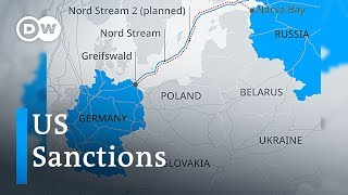 USA threatens to sanction Germany over Russia gas trade | DW News - DEUTSCHEWELLEENGLISH