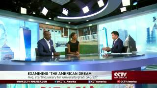See the news report video by Panel on the American Dream