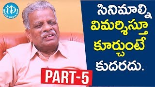 Renowned Poet Nagnamuni Exclusive Interview - Part #5 || Akshara Yatra With Mrunalini - IDREAMMOVIES