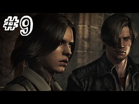 Resident Evil 6 Gameplay Walkthrough Part 9 - THE CATHEDRAL - Leon / Helena Campaign Chapter 2 (RE6)